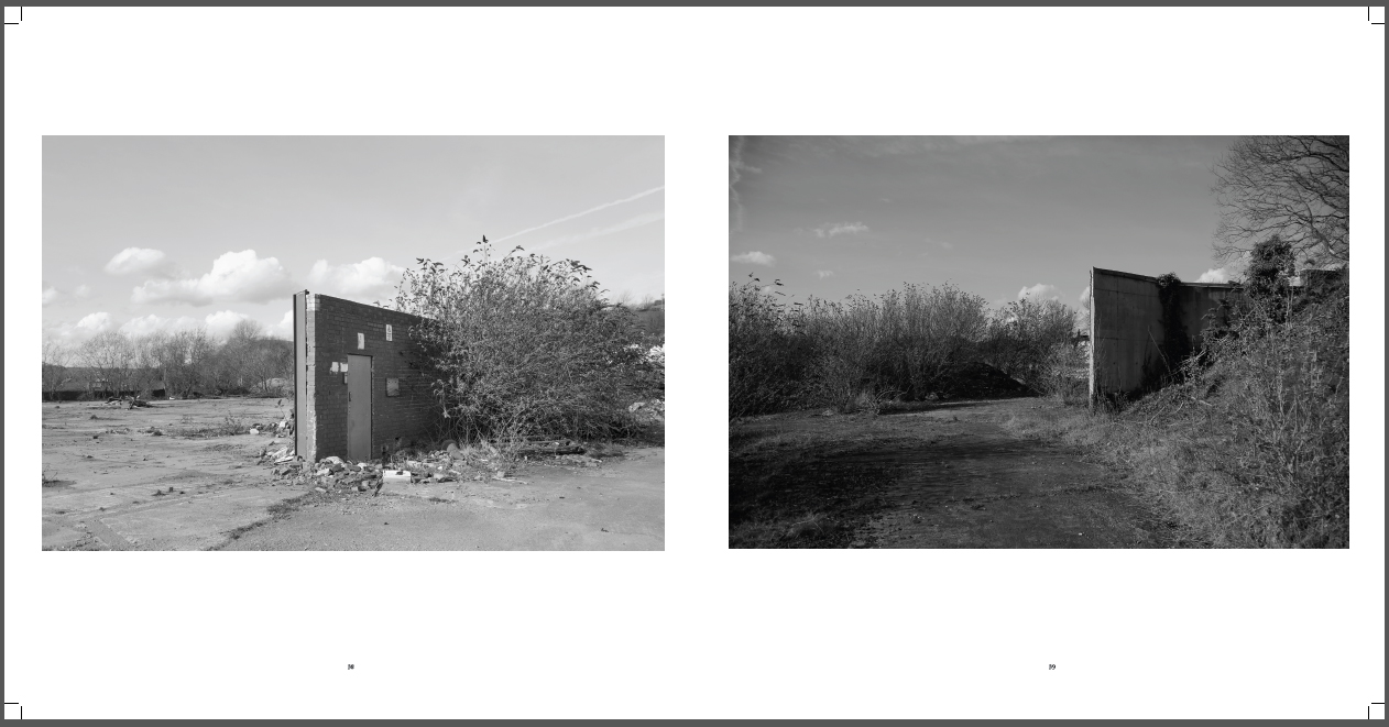 Michael C Coldwell Failures of Presence photo book essay research Leeds art landscape photography wasteland